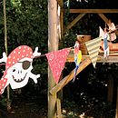 Thumb ahoy there pirate garland