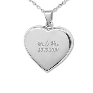 Personalised Love Locket Necklace - necklaces & pendants