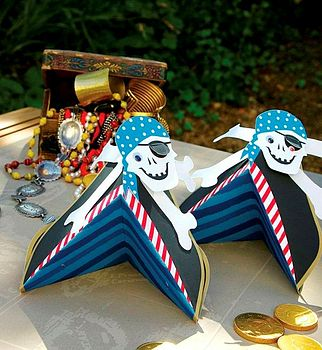 Ahoy There Pirate Party Hats