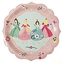 Princess Paper Party Plates