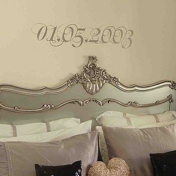 Personalised Special Date Wall Sticker