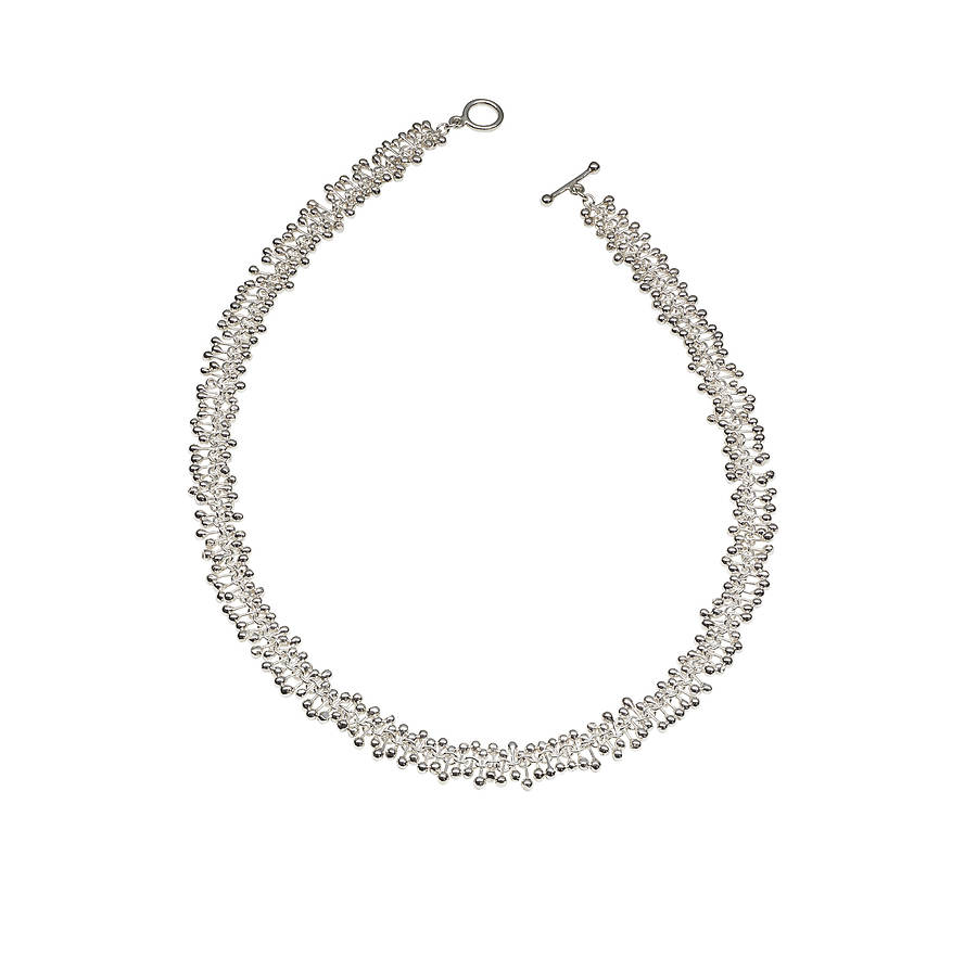 silver simple everyday necklace by yen jewellery ...