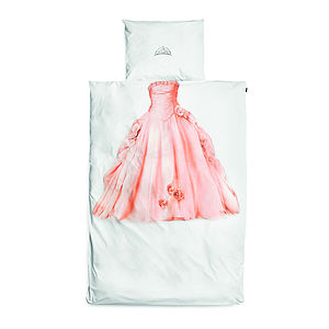 Princess Single Bedding Set - bedroom