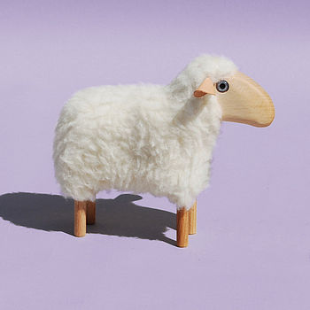Wooden Sheep Toy