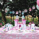 Princess Castle Party Centrepiece