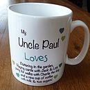 Personalised 'Dad/Daddy Loves' Mug