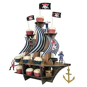 Ahoy There Pirate Ship Centrepiece - toys & games