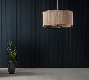 Tom Raffield Large Cage Wooden Lampshade - ceiling lights