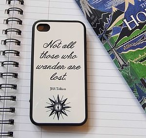 JRR Tolkien Quote Case For IPhone - bags & purses