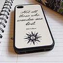 JRR Tolkien Quote Case For IPhone