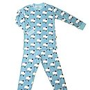 Organic Angus The Sheep Print Pyjamas