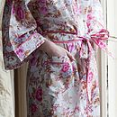 Pocket and Trim Kimono Detail