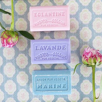 Savon De Marseilles Set Of Three Soaps