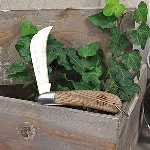 'Thoughtful Gardener' Pruning Knife - gifts by category