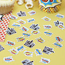 Superhero Pop Art Party Table Confetti
