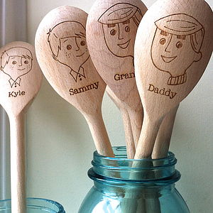 Personalised Father's Day Spoon - kitchen