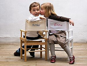 Personalised Child's Director's Chair - children's room accessories