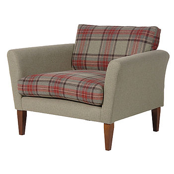 Tartan Love Seat Chair