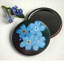 Forget Me Not Handbag Mirror