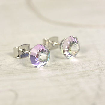 Swarovski Crystal Cone Earrings