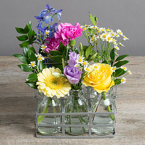 Flower Glory Vintage Style Bottles - view all mother's day gifts