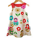 Babushka 'Jessie' Pinafore Dress