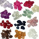 Artificial Rose Petals In 20 Colours