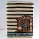Gardeners Shed Notebook, Reusable