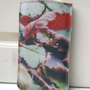 Autumn Leaves Printed Phone Case