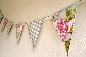Village Floral Bunting - bunting & garlands