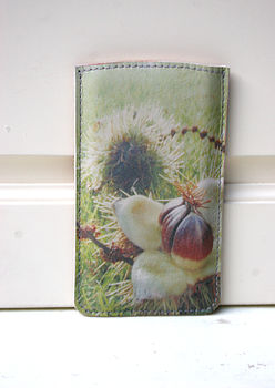 Sweet Chestnut Printed Phone Sleeve
