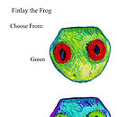 Finlay the Frog Colour Options