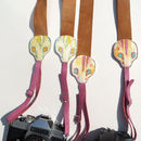 Sid Snake Leather Camera Strap