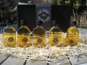 Single Malt Whisky Sampler - food & drink gifts