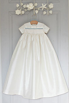Boys Silk Christening Gown 'Jack'
