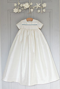 Boys Silk Christening Gown 'Jack' - christening wear