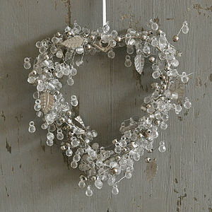 Beaded Heart Decoration
