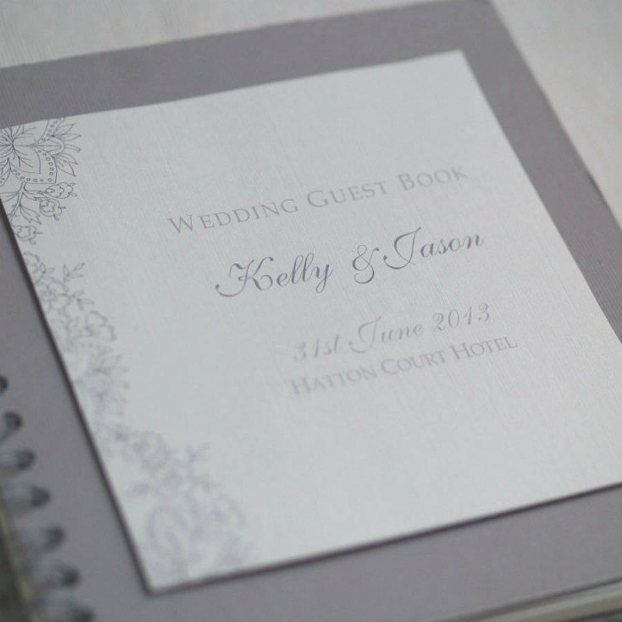 Winter Wedding Guest Book | Dress images
