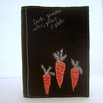 Garden/Allotment Notebook Carrots