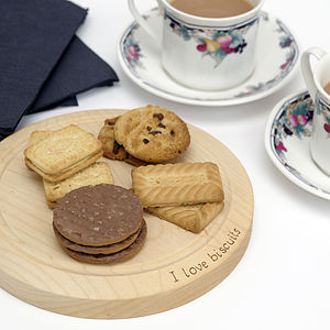 Personalised Biscuit Board