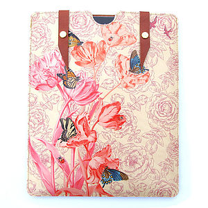 Leather Springtime Case For IPad - laptop bags & cases