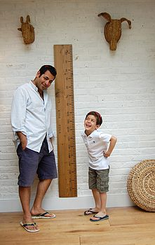 'Dad's Rule' Height Chart