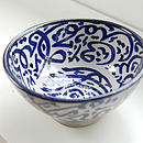 Moroccan Calligraphy Bowl