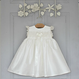 Lucy Christening Dress - flower girl fashion