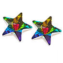 Swarovski Star Stud Earrings