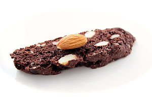 Chocolate Cherry Almond Biscotti - food & drink