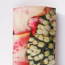 Tropical Flower Printed Phone Case