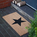 Star Door Mat