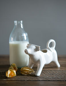 Cow Milk Jug - dining room