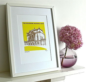 The Holburne Museum Silk Screen Print